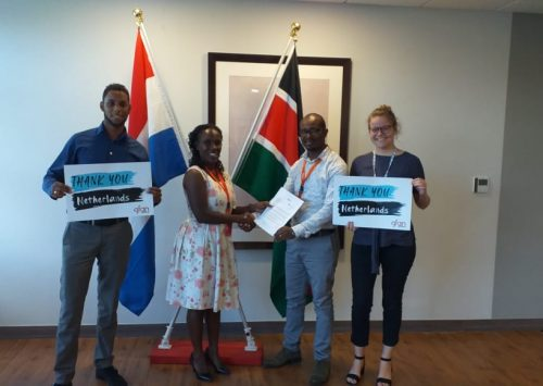 Thank you Netherlands for Contributing to the Global Fund