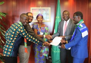 YL4H presents statement to AU Commission; wants health systems in Africa strengthened