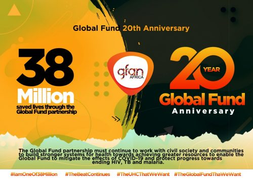 GFAN Africa Joins in Celebrating The Global Fund at 20